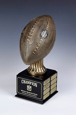 Fantasy Football Perpetual Trophy  16 Year  League Champ LIFESIZE New Style