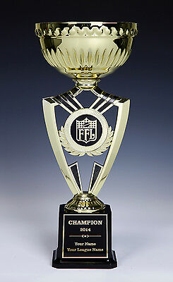 Fantasy Football Gold Cup EXTRA LARGE Award Trophy Engraved