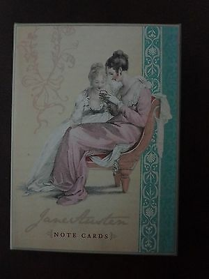 Jane Austen Note Cards by Potter Style Staff (2007) 16 Cards, 4 Designs