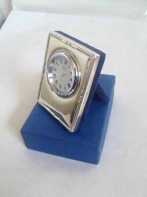 Sterling Silver Clock Picture Photo Frame R. Carr Sheffield Hallmarked