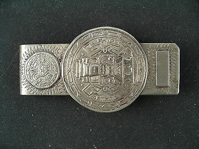 Vintage Money Clip Mexico Signed (0126)