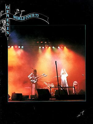 Genesis 1977 Wind And Wuthering U.s. Tour Concert Program Book