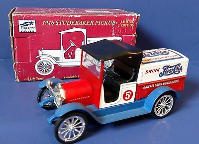 Liberty Classics 1916 Studebaker Pepsi Coin Bank, 1/25 Scale ~ Free Shipping