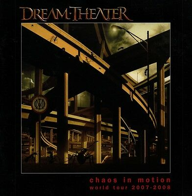 Dream Theater 2007 Chaos In Motion Tour Concert  Program Book