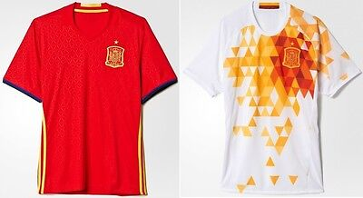 Spain Home/Away Football Soccer Kids Jersey w FREE Shorts & Socks Uniform Outfit