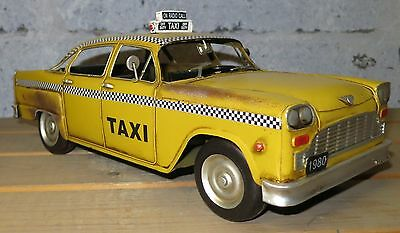 Taxi New York Oldtimer Blechauto Blechmodell Tin Model Vintage Car 35 cm 37216