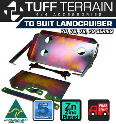 Dual Battery Tray To Suit Toyota Landcruiser 70 78 79 Series 4.5L Tdi V8 Fit Abs