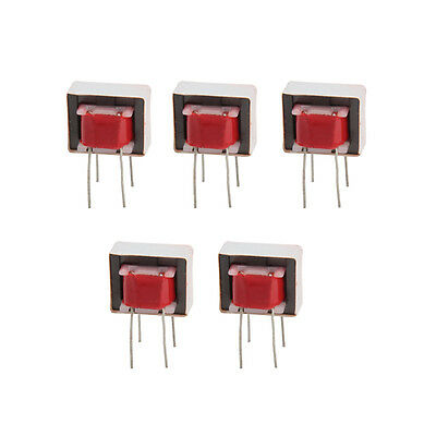 5X Audio Transformers 600:600 Ohm Europe 1:1 EI14 Isolation Transformer Ringing