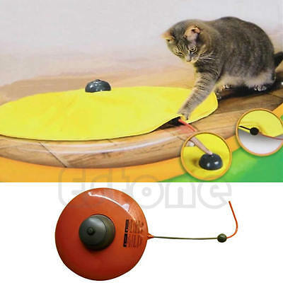 Moving Mouse Cats Meow Play Undercover Fabric Cat Toy For Cat Kitty Funny New