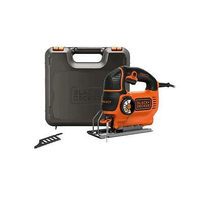 Black & Decker KS901SEK-QS - Seghetto Alternativo, 620W in Valigetta