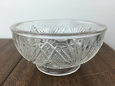 Depression Glass Footed Candy Dish Small Bowl Authentic Vintage Antique