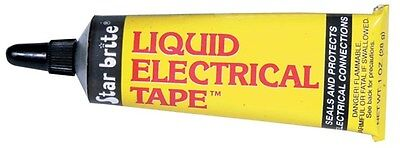 28G LIQUID ELECTRICAL TAPE (Black) Weatherproof Your Connections