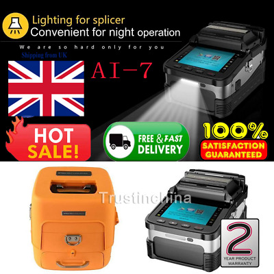 UK Optical Fiber Fusion Splicer with Automatic Focus Function - Signal Fire AI-7