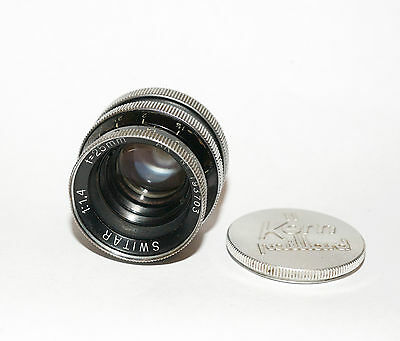 Kern-Paillard SWITAR 25mm AR C Mount 16mm Camera Lens