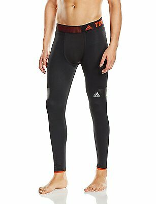 adidas Techfit Climaheat Men's Running/Fitness/Yoga Long Tights, Size:S (W:26/28