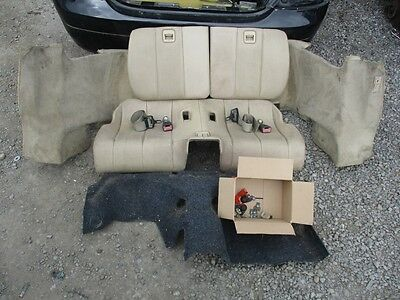 Mercedes Sl R129 - Rear Seat Conversion With Seat Belts - Complete Set