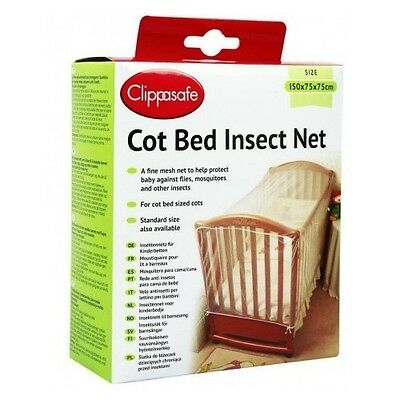 Mosquito Net For Baby Cot Bed Insect Clippasafe Keep Cats Away From The Baby Bed