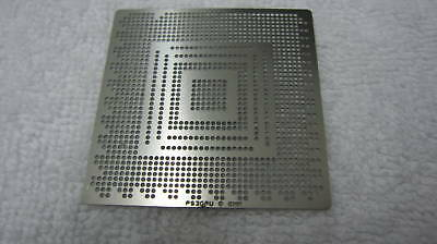 Play Station PS3 GPU Heat Directly BGA Template Stencil