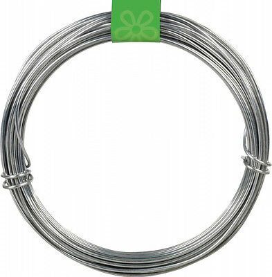 EXTRA THICK HEAVY DUTY STRONG GALVANISED GARDEN FENCING STRAINING WIRE 3mm X 20M