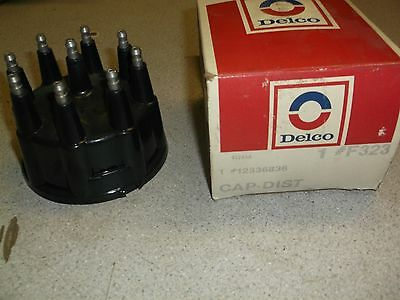 NEW GM 12336836 F323 NOS AC Delco Distributor Cap *FREE SHIPPING*