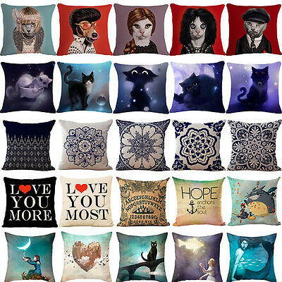 Bohemia Linen Pillow  Covers Pillow Cases Cushion Covers