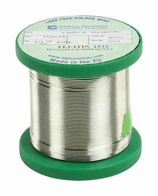 Cookson Electronics Lead free solder 0.75mm 250 g