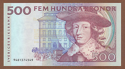 Sweden, 500 Kronor 1989 (9461374549) P-59a XF