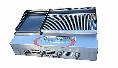 4 Burner Gas Charcoal Char Grill Heavy Duty for Commercial Use