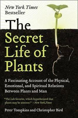 NEW The Secret Life of Plants By Peter Tompkins Paperback Free Shipping