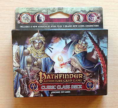 Pathfinder Adventure card game CLERIC Class deck Ingles English 109 cards