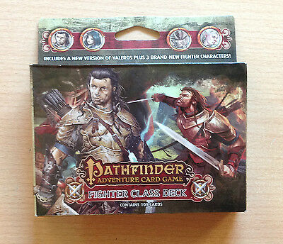Pathfinder Adventure card game FIGHTER Class deck Ingles English 109 cards