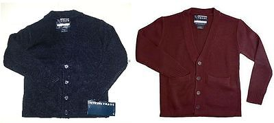 French Toast Boys Navy/Burgundy Sweaters 4-14   NEW School Uniform