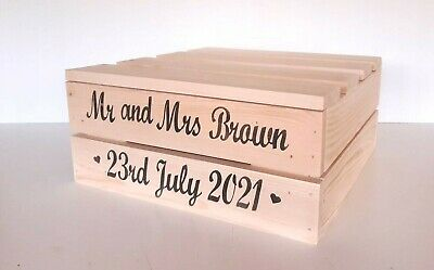 Personalised Wooden Wedding Cake Stand / Table Centre