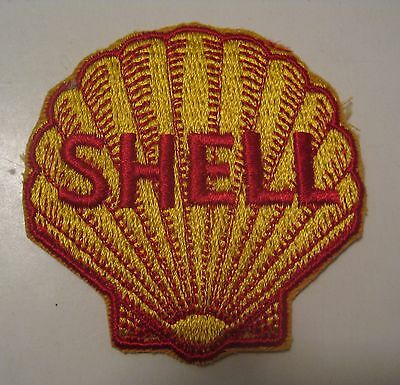 Nos Vintage Shell Gas & Oil Advertising Patch