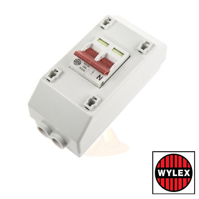 Wylex REC2S Main Switch Meter Supply Isolator 100amp Double Pole