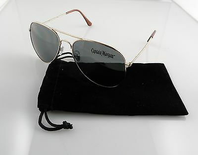 Captain Morgan Aviator Sunglasses with Micro Fiber Sleeves Not Beer Goggles