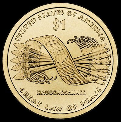 "2010 P Sacagawea Native American Dollar US Mint Coin ""About Uncirculated"""