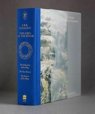 NEW The Lord of the Rings Illustrated Slipcased Edition By J. R. R. Tolkien