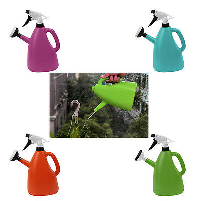 Watering Can Garden Plants Kettle Irrigation Watering Jet Sprayer Nozzle Bottle