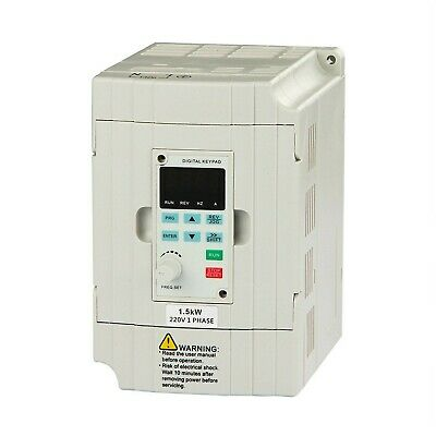 LAPOND VFD Drive VFD Inverter Professional Variable Frequency Drive 1.5KW 2HP fo