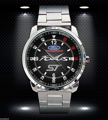 Rare FORD FOCUS ST RACING CAR FORD Sport Metal Watch FIt Ypur T shir