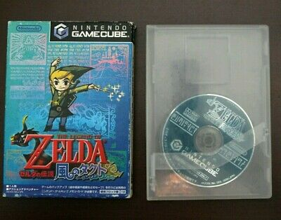 Nintendo Gamecube Legend of Zelda The Wind Waker (Takt of Wind) Japan NGC Game