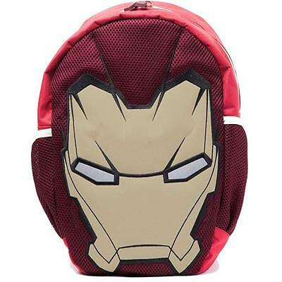 Iron Man - Civil War Mask Backpack / Rucksack - New & Official Marvel With Tag