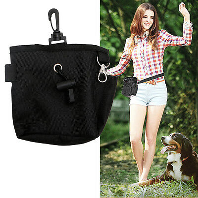 Pet Dog Puppy Snack Obedience Agility Bait Training Food Treat Waist Pouch Bag