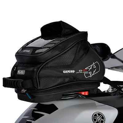 New Oxford Motorcycle Bike Q4R Quick Release Compact 4L Tank Bag/Tail Pack Black