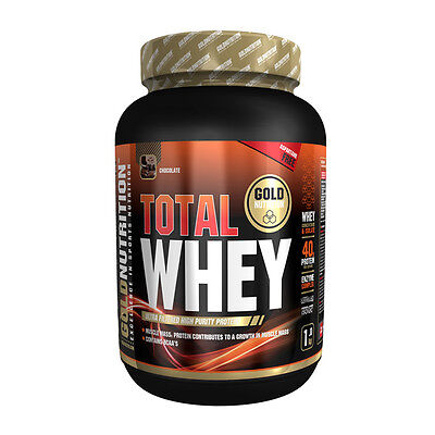 Proteina Total Whey 1 Kg Sabor Chocolate - Gold Nutrition