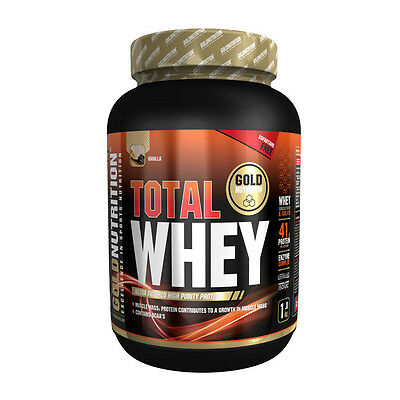 Proteina Total Whey 1 Kg Sabor Vainilla - Gold Nutrition