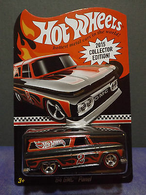 Hot Wheels 64' Gmc Panel Van 2015 Mail In Collector Edition