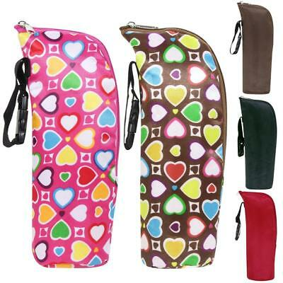 Baby Thermal Feeding Milk Water Bottle Warmers Stroller Hand Insulation Bags CB