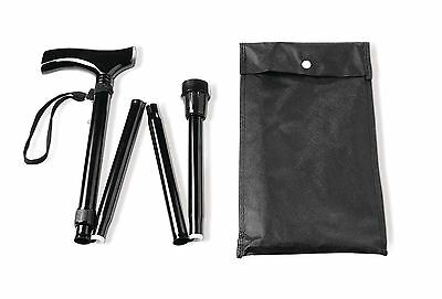Vitility Walking Cane - Foldable Black